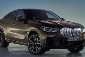 Новый BMW X6 готов к продаже