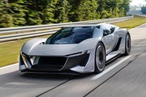 Супер-электрокар от AUDI: 500 км. на одном заряде!