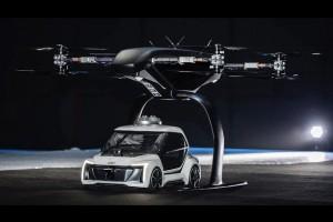 AUDI разрабатывает воздушное такси!