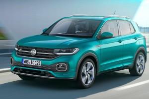 Volkswagen презентовал фото уникального мини кроссовера T-Cross