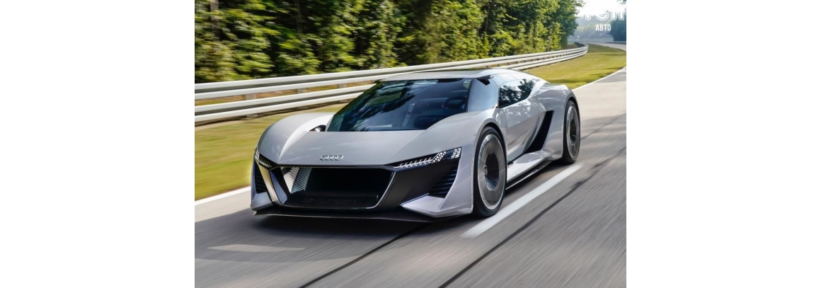 Super electric car from AUDI: 500 km. on one charge!