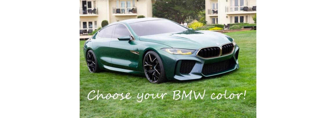Коды цвета автомобилей BMW по годам: 2009-2019