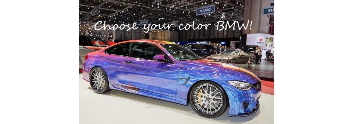 Коды цвета автомобилей BMW по годам: 2000-2008